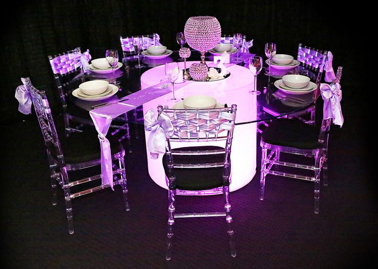 Illuminated Industries Furniture - Styled by Ultimate Events. Brisbane & Gold Coast.