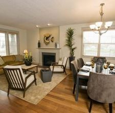 How To Paint An Adjoining Living Room Dining