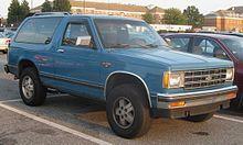 Chevrolet S-10 Blazer - Wikipedia, the free encyclopedia