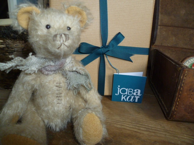 'Erbert' Another handmade bear from the 'scruffy' collection from JABAKAT