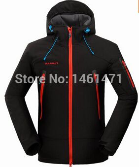 Find More Hiking Jackets Information about 2014 new winter men outdoors sport waterproof mammoth Camping & hiking windstopper trekking windbreaker black,High Quality winter mittens for men,China winter Suppliers, Cheap windbreaker brand from The customer is god!
