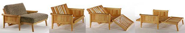 Soho futon frame. Coordinate futon mattress cover
