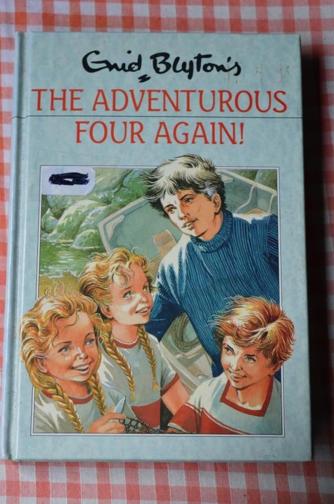 the adventurous four again. enid blyton hard cover  by dean #40 rewards series