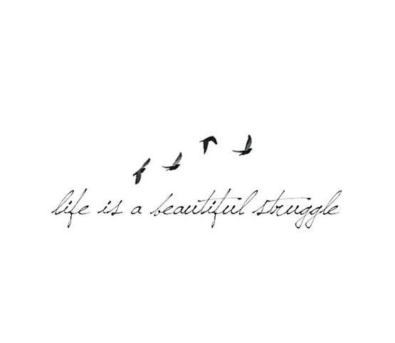 Life is a beautiful struggle #tattoo #women tattoo #breast tattoo #breast #buttocks tattoo de…
