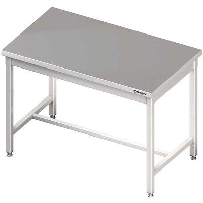 Stół centralny bez półki skręcany meble nierdzewne