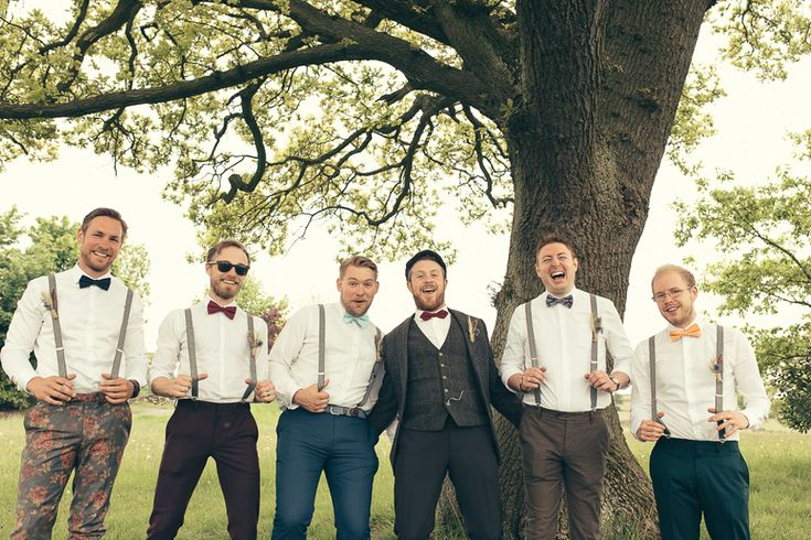 Image by Elysia Photographer - An outdoor UK Tipi wedding with a rustic mismatched bridal party and a BHS wedding dress by Elysia Photographer.