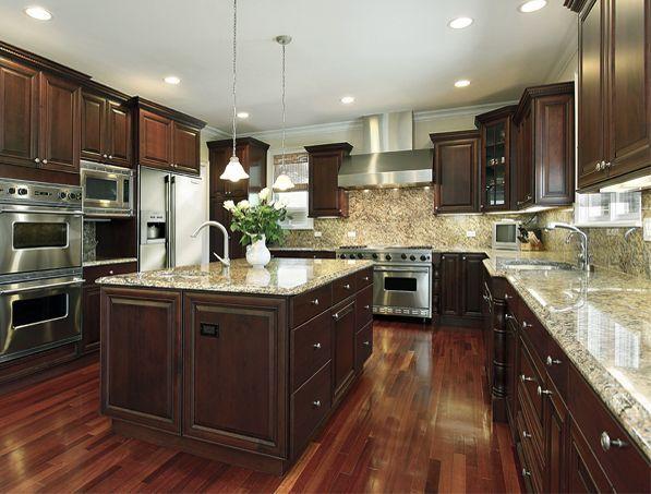 Kitchen Countertop That Matches Aqua Tile Wall