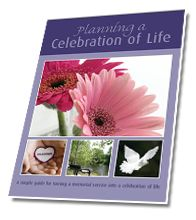 Planning a Celebration of Life Book