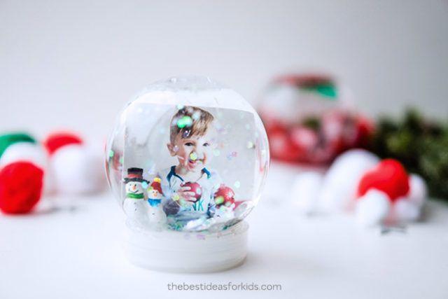 How To Make A Snow Globe Snow Globes Ornaments Diy Kids Diy