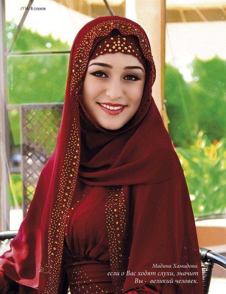 Chechen women first