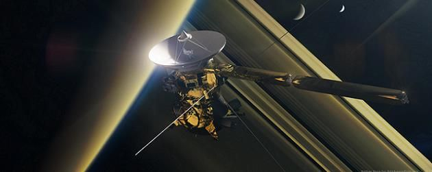 38 years after Pioneer 11, Cassini enters final 2 weeks of Saturnian mission