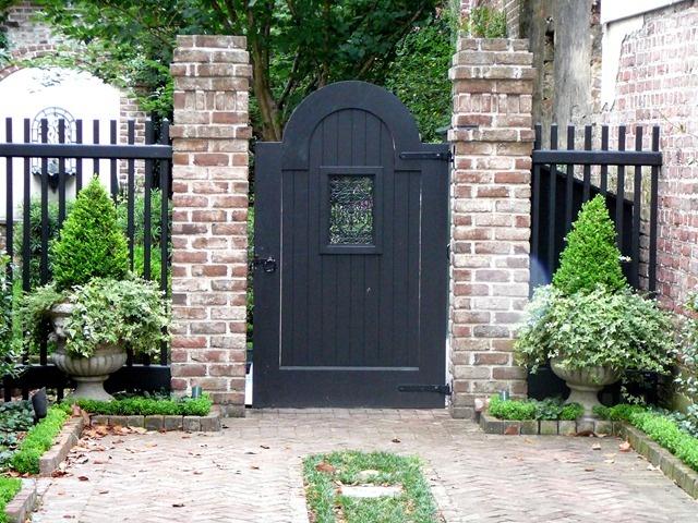 1237 best garden fences walls gates images on pinterest for Charleston style fence