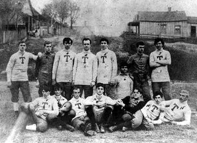 Georgia Tech's first football team from 1893.