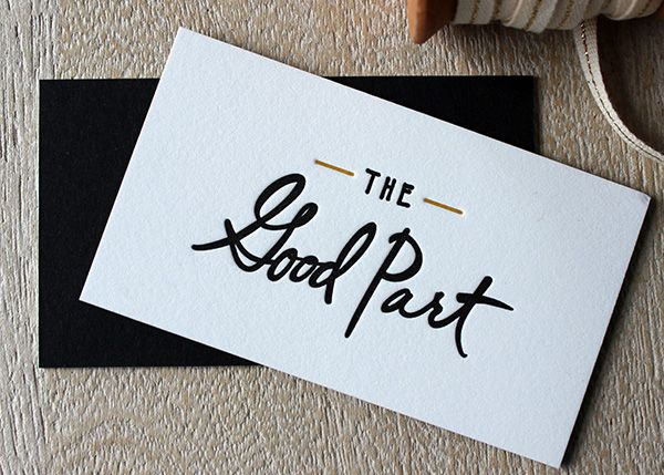 23 best Letterpress Business Cards images on Pinterest Embossed - Letterpress Business Card