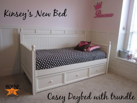 Casey Day Bed  with Trundle from Hayneedle
