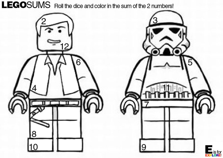 p g lego coloring pages - photo #39