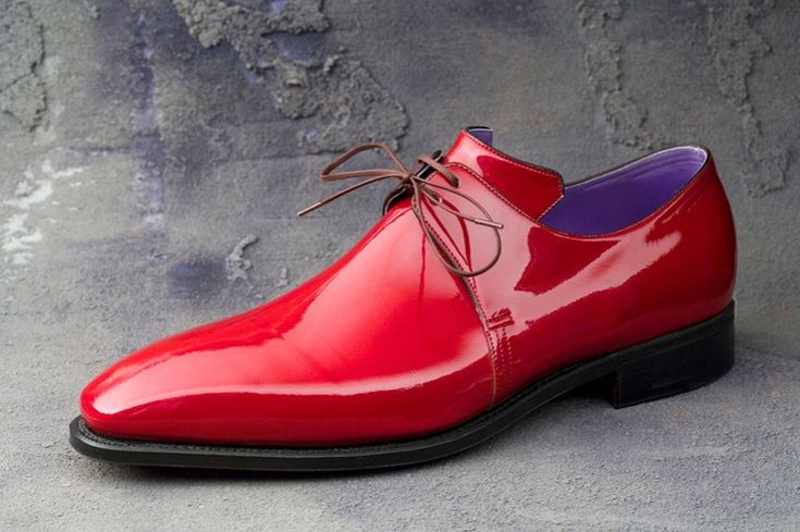 pierre corthay red patent Frm bd: Clothes Make the Man Red Patent leather.....one of my favorite combos in shoes.