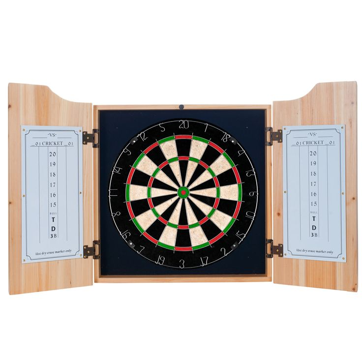 Trademark Premier League Swansea City Dart Cabinet includes Darts and Board