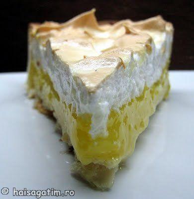 Tarta cu lamaie si bezea (Lemon meringue pie)