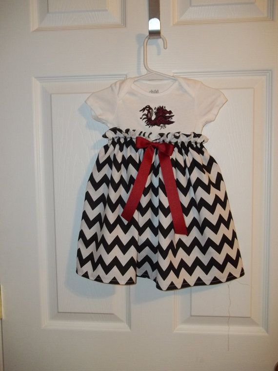 USC Gamecock Dress Chevron