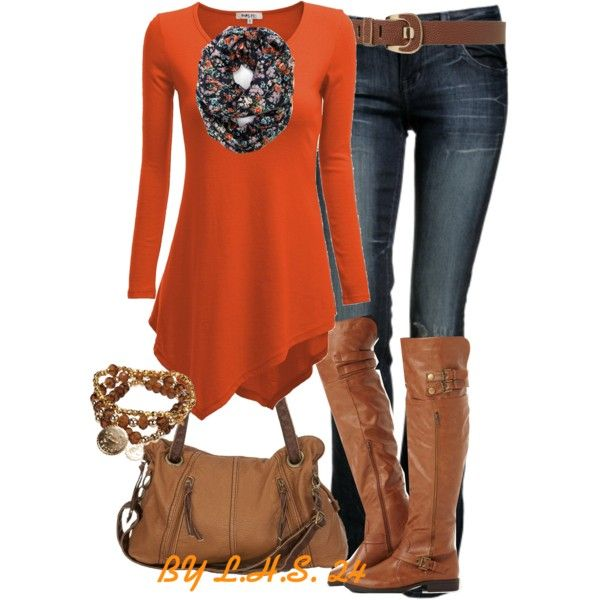 """""""Untitled #3225"""" by lilhotstuff24 - #Fall Outfits"""