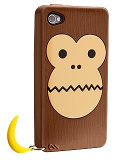 Bubbles's Monkey Silicone iPhone Case ($25)