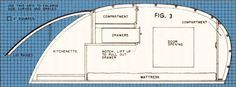 Trailer for Two - A streamlined home on wheels that's light and easily towed; has a double-berth and complete kitchenette. (includes instructions and figures)