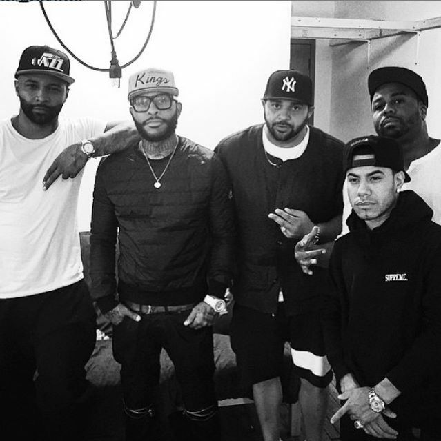 Joe Budden, Royce The 5'9, Joell Ortiz, Just Blaze & Araab Muzik