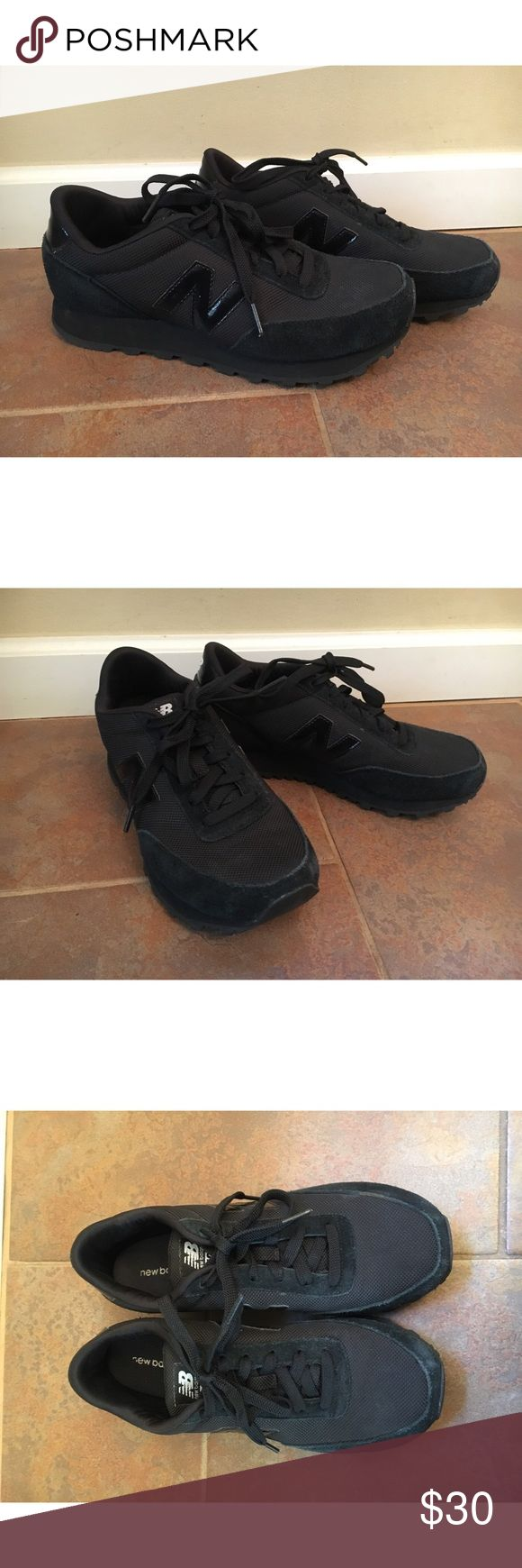 New Balance Black Sneakers All black New Balance Sneakers. Worn only a handful of times and in great condition! New Balance Shoes Sneakers