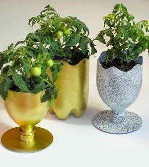 M s de 25 ideas incre bles sobre como hacer macetas - Como hacer un jardin bonito ...