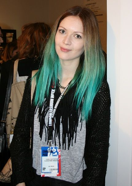 the look i want. a bit greener though, but my hair is amost the same color, texture and length.