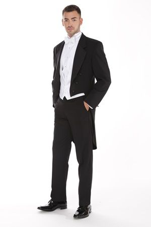 Crowne Full Dress Tails #StreetTuxedo #Prom #PromInspiration