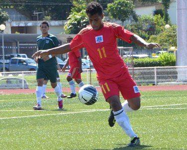 Lawrence Nemeia, Kiribatian footballer who plays for Kiribati National Football Team. He has scored the most goals of any player in Kiribati football history. In the Football at the 2003 South Pacific Games Lawrence Nemeia scored two goals when playing against Tuvalu but even so Kiribati lost 2-3. He plays midfield.