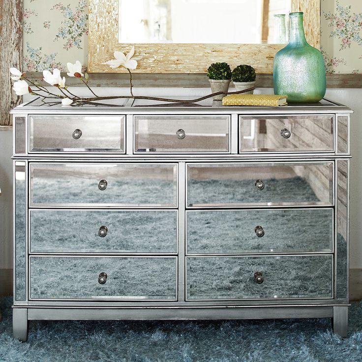 Hayworth Mirrored Dresser - Silver | Pier 1 Imports