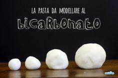 La pasta da modellare al bicarbonato! Baking soda play dough!