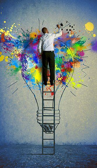 Deja que tus #ideas vean la luz… vía @Karin H H roberts Recuerda tú te encargas de la #creatividad, nosotros de la #impresion www.bramona.com