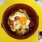 Huevos al estampido - ricetta canaria