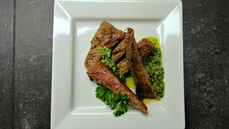 Flank Steak On Texas Toast With Chimichurri Recipes — Dishmaps