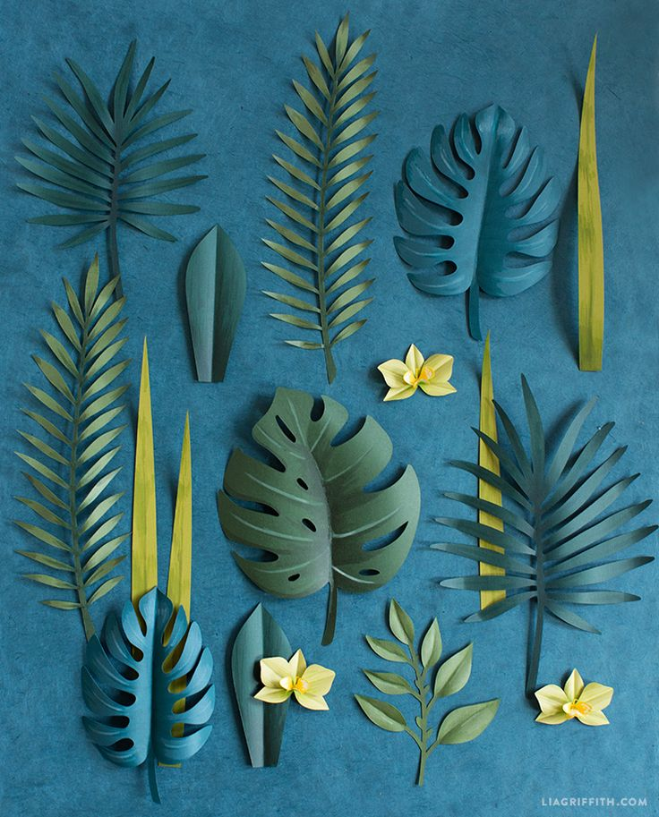 ..a simple tutorial to make a gorgeous DIY tropical wreath complete with palm leaves, monstera and orchid blooms. Once you trim and color all your botanical