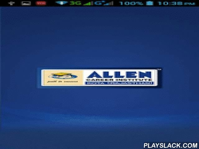Allen DSAT  Android App - playslack.com ,  उद्यमेन हि सिद्ध्यन्ति कार्याणि न मनोरथैः। न हि सुप्तस्य सिंहस्य प्रविशन्ति मुखे मृगाः॥Allen provides multidimensional evaluation of students performance. The recent development has been the creation of an online platform, by Allen, for a detailed analysis of the performance by the student as well as respective parents.This platform provides various analytic domains which are as follows:1. SCORE CARD: Gives the quantitative performance of the…