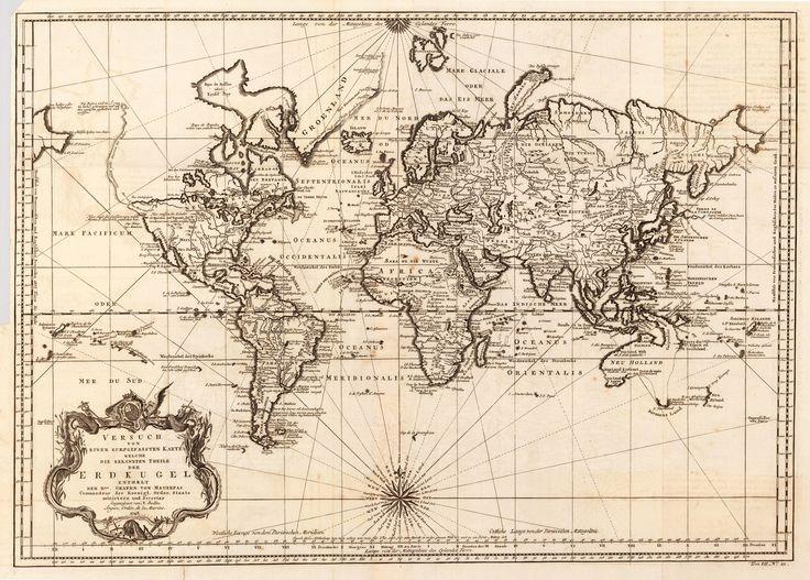 World map (1748)