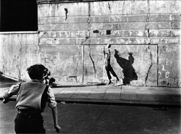 Roger Mayne    Footballer and shadow  1956