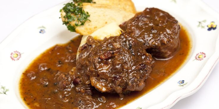 Henry Harris's beef carbonnade is a perfect winter warmer - slowly braised beef shin in a rich, beer-based sauce