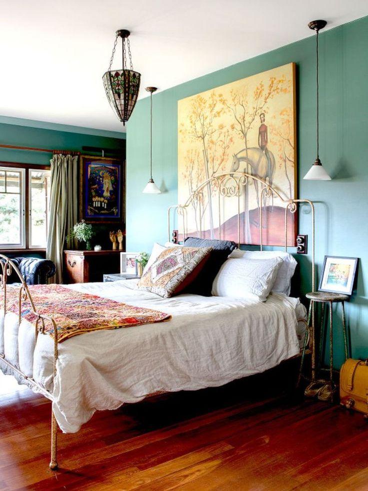 Rustic Vintage Bohemian Bedroom Decorations Ideas 6