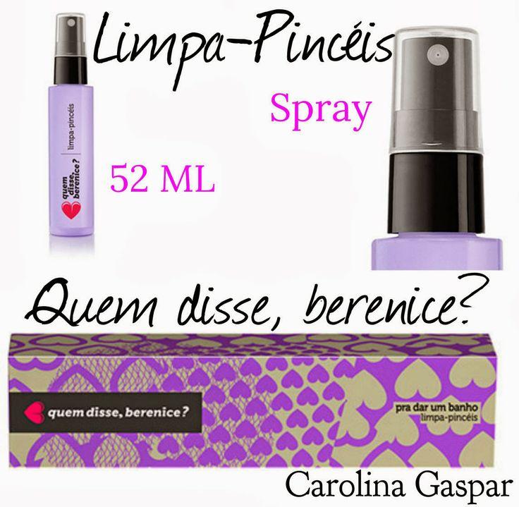 Carolina Gaspar: Resenha: Limpa Pincéis - Quem disse Berenice?