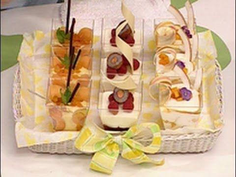 Postres para regalar - Festival de vasitos con frutas - YouTube