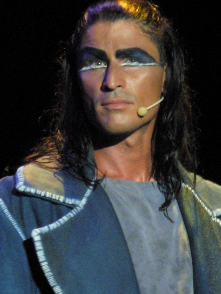 Matteo Setti as Gringoire in the italian version of Notre Dame De Paris