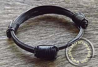 3 Knot Elephant hair bracelet