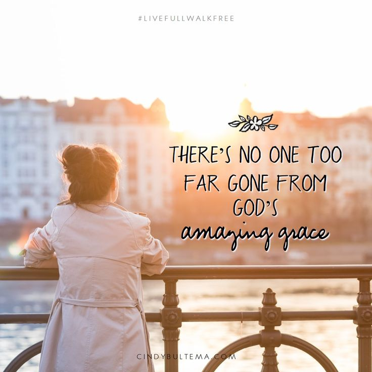 Jesus set me free and He can do it for you too! There's no one too far gone from God's amazing grace. Cindy Bultema, Live Full Walk Free Bible study at Thomas Nelson.