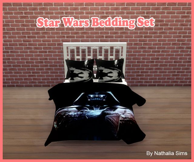 Sims 4 Cc S The Best Star Wars Bedding Set By